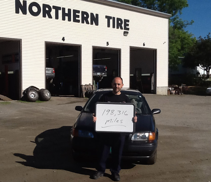 200 000 miles and more how to get there northern tire colebrook nh tires shop news. Black Bedroom Furniture Sets. Home Design Ideas